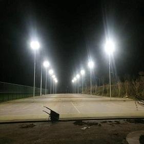 Instalaba Campos de fútbol en China