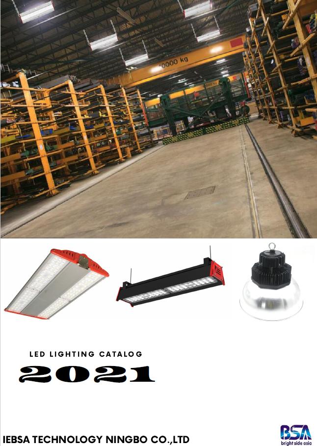 Catálogo de iluminación industrial 2021